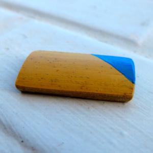 ►►△ Bamboo earring [bleu ciel]