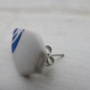 ►►△ Ceramic earring [3]back