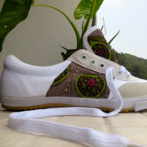 ►►△ [Fleur de Mali] Customized Shoes