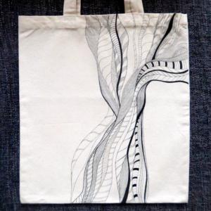 ►►△ Lines Tote Bag