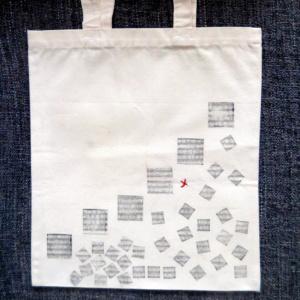 ►►△ Squares stamp Tote Bag