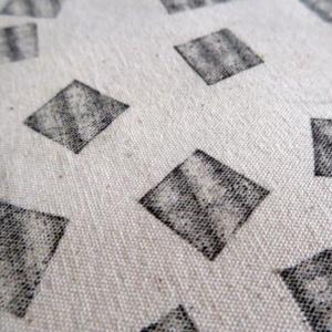 ►►△ Squares stamp Tote Bag detail