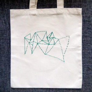 ►►△ Triangulaire Tote Bag